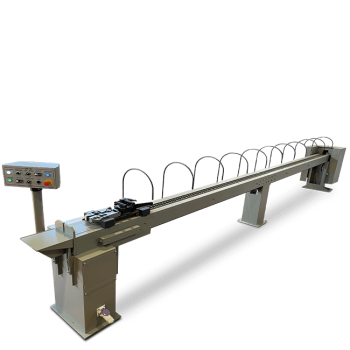Chain wire-drawing machines